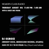 MOdERN CLASS on Radio CPR 101.7 FM #14 w/ Dj Osmose (Smokecloud, Whiskey Disco records)