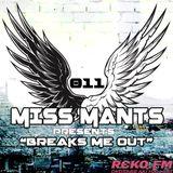 Miss Mants presents: Breaks Me Out on RCKO.fm feat. Tonite [09Apr.2015]