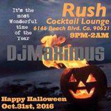 Smosef Live @Rush Bar Halloween 2016