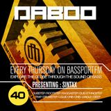 BASS TREK 40 with DJ Daboo on bassport.FM (Presenting: SINTAX)
