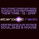 Paul Stuart Starpoint Radio - Sunday 16th September 2018