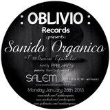 Sonido Organico :Episode 4: Hosted by PABLoKEY ft ::Salem:: (OVERVIEW art+music/Switzerland) 1.28.31