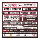 DJ PROFILE - #INVADERZ.be PROMOMIX _ 14.03/2014 _ GHENT-BELGIUM