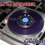 Dj AJ Moroder House Mix June 2013