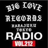 BIG LOVE RADIO vol.212 (JAN.19.2019)
