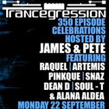 Snaz & Alana Aldea on Trancegression 350 Kiss FM Dance Music Australia 22/9/14