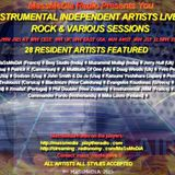 Rock & Various Sessions Of The Instrumental Independent Artists Live Show on September 29th 2015