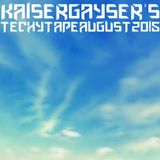Kaiser Gayser's Beatport DJ's 'TECH TAPE' August 2015