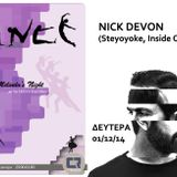 Nick Devon  @ Melinda's Night - Interview & dj set