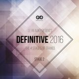 Infinitive: Definitive 2016: Stage 2