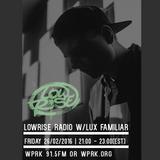 LowRise Radio w/Lux Familiar 26/02/2016