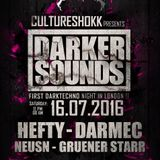 Darmec @ CultureShokk Presents Darker Sounds - London 16.07.2016