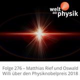 Folge 276 – Physiknobelpreis 2018
