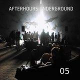 AFTERHOURS UNDERGROUND 05 Mixed by Buddhafish