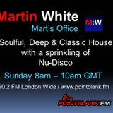 06.09.15 - Martin White Mart's Office Point Blank FM