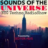 218.-SONIDOS DEL UNIVERSO RadioShow@Superasis Episode 218 LIVE from NYC Techno #16th December 2016