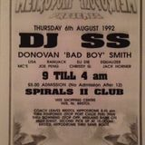 Dj Lisa @ Metropolis - Spirals Yate - feat Mc Ribbs Mc Jack Horner '92
