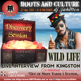 Roots and Culture: Discovery Session and live interview with Wild Life in Kingston