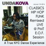 DJ UNDAKOVA HIP HOP MIX LIVE @ PMT E.O.F Sessions Jan 2014
