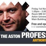 Meet The Professor 2013 - Anthony Hilton