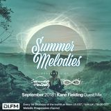 Summer Melodies on DI.FM - September 2018 with myni8hte & Kane Fielding