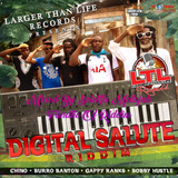 Digital Salute Riddim (larger than life music 2017) Mixed By SELEKTA MELLOJAH FANATIC OF RIDDIM
