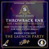 Status Event Mix CD - Part 1 - Old Skool RnB mixed by @iamliamfry
