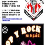 """""""Las Noches de Pop"""" de La Radioqle, 10 de enero de 2014"""