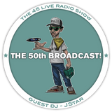 45 Live Radio Show pt. 50 with guest DJ JSTAR