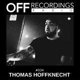 OFF Recordings Radio #34 with Thomas Hoffknecht