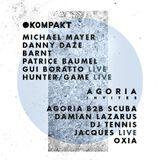 Gui Boratto - Live @ Kompakt Open Air, Parc del Forum (Barcelona, ES) - 19.06.2016
