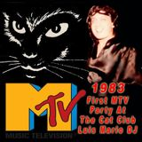 Luis Mario DJ MTV Party Live at the Cat Club 1983