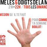 Comme les 6 doigts de la main - Emission du 08 Février (avec l'association ACTES en invité)