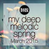 bangster - my deep melodic spring (March 2015) (WITH TRACKLIST)