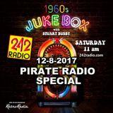 STUART BUSBY'S 1960's JUKEBOX PIRATE RADIO SPECIAL -12-8-2017 - 242 RADIO
