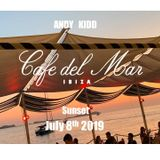 Andy Kidd - Live at 'Cafe Del Mar' Ibiza. July 8th 2019