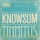 Radio Juicy Vol. 45 (Tinnitus by Knowsum)