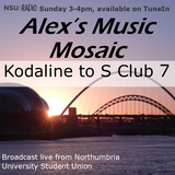 Alex's Music Mosaic - Kodaline to S Club 7