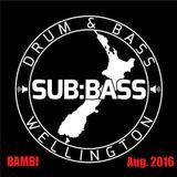 Bambi August 2016, SUB:BASS