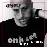 WorldSound Series # Artist Series # A Paul # 119 # LocaFM