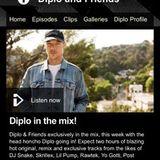 Diplo & Friends BBC Radio 1 (15-10-2017) snippet, Diplo drops my Camila Cabello - Havana remix