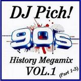 DJ Pich - 90's History Megamix (Section The 90's)