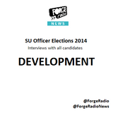 SU Officer Elections 2014 - SU DEVELOPMENT Officer Candidates