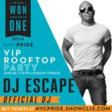 DJ Escape Pride Podcast 2014