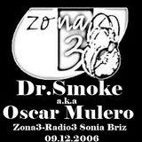 Dr.Smoke a.k.a Oscar Mulero - Live @ Session Directo (Zona3-Radio3) - Sonia Briz (09.12.2006)