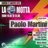 Jacopo Ferrari /// Live @ La Motta /// Guest Paolo Martini 27 Agosto 2015