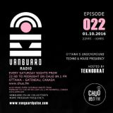 VANGUARD RADIO Episode 022 with TEKNOBRAT - 2016-10-1st CHUO 89.1 FM Ottawa, CANADA