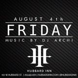 1st Floor Selections @ Hubbard Inn (8.4.17)