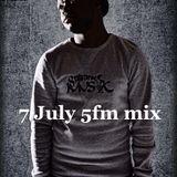 SculpturedMusic 7 July '14 5fm Mix