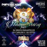 Erich Ensastigue & DJ CARLOS G Pure Jaus 8 Aniversary !MIAMI